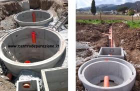 Impianti depurazione acque reflue domestiche depuratori for Depuratore acque nere domestiche