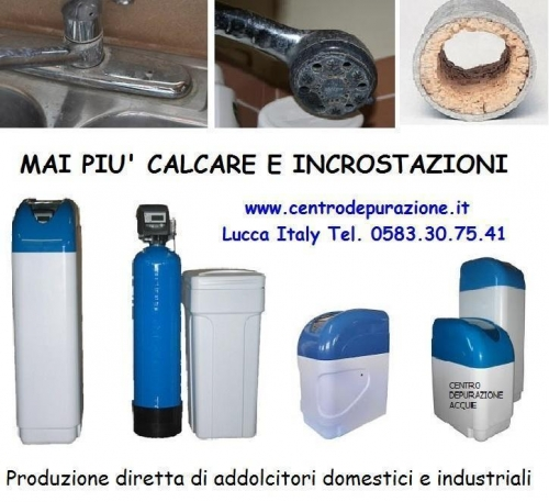 Addolcitori acqua domestici Lucca Pisa Livorno, manutenzione, gestione e ricambi per addolcitori ...