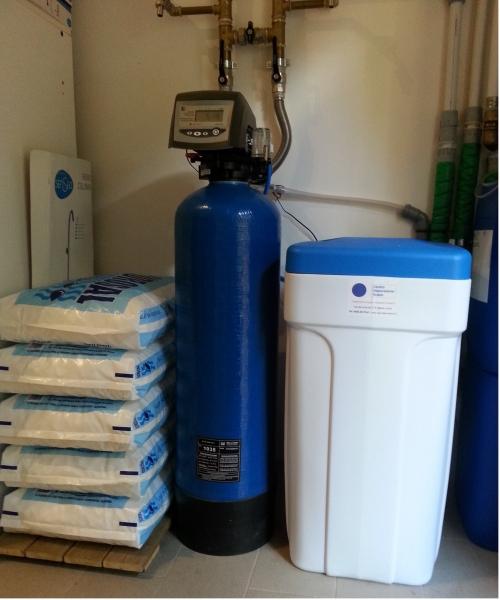 Impianto decalcificatore domestico termosifoni in ghisa - Addolcitore acqua casa ...